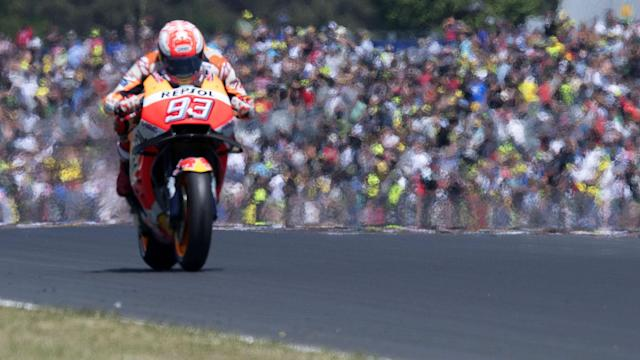 Sunday brought another race win for MotoGP leader Marc Marquez as he claimed victory and Andrea Dovizioso crashed out at Le Mans.