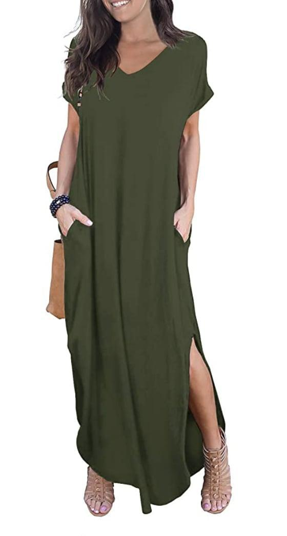 <p>You'll want to live in this incredibly comfortable <span>Grecerelle Casual Maxi Dress</span> ($19 and up).</p>