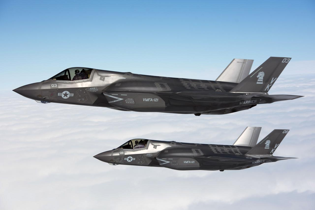 The Story of How the F-35 Might Have Some Russian 'Blood'