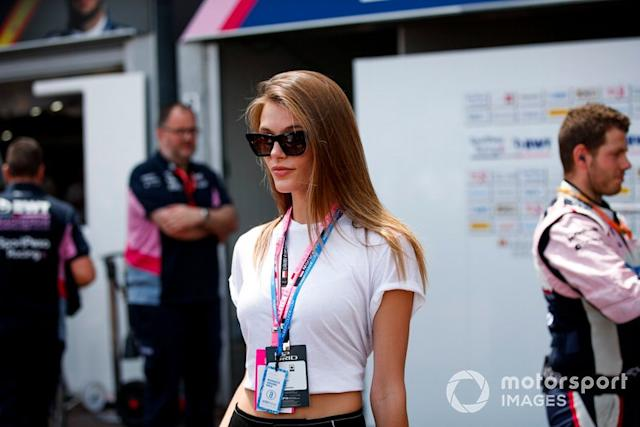 "Madison Headrick, Modelo <span class=""copyright"">Joe Portlock / Motorsport Images</span>"