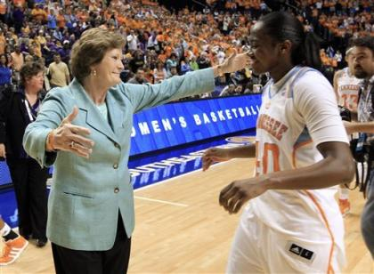 Tennessee won 1,098 games and eight national titles under Pat Summitt. (AP)