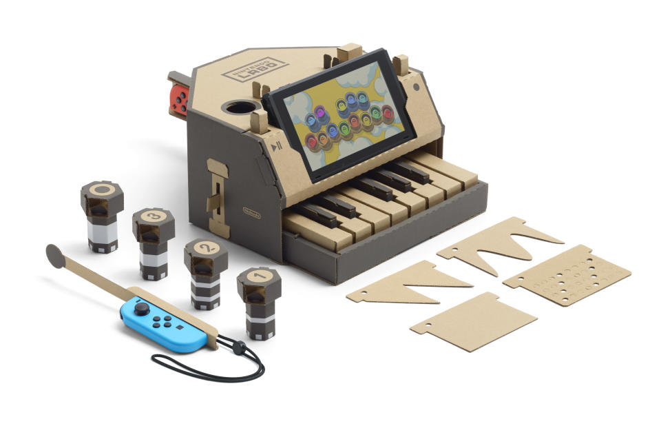 Nintendo's Labo is a quirky, fun and educational toy that only the company behind Mario could make