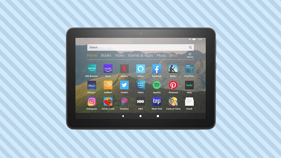 Save $25 on the Fire HD 8! (Photo: Amazon)