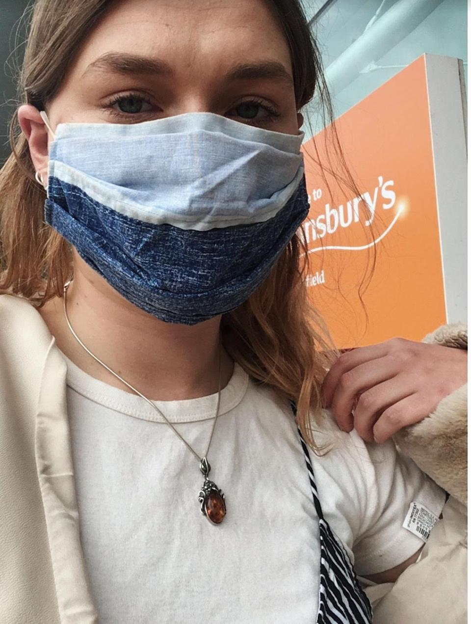 Student Mollie Simpson says a tier 3 lockdown without additional support could have dire consequences (Photo: Supplied: Mollie Simpson)