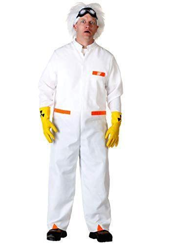 """<p><strong>Fun Costumes</strong></p><p>amazon.com</p><p><strong>49.99</strong></p><p><a href=""""https://www.amazon.com/dp/B07ZBNXFD2?tag=syn-yahoo-20&ascsubtag=%5Bartid%7C10070.g.22646261%5Bsrc%7Cyahoo-us"""" rel=""""nofollow noopener"""" target=""""_blank"""" data-ylk=""""slk:Shop Now"""" class=""""link rapid-noclick-resp"""">Shop Now</a></p><p>You can bring Doc Brown's crazy scientist look to life this Halloween and pay tribute to the 1980s icon. </p>"""