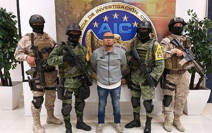 Guanajuato State Attorney's Office show the arrest of Jose Antonio Yepez, 'el Marro', by federal forces in the state from Guanajuato, Mexico - GUANAJUATO STATE ATTORNEY'S OFFICE/HANDOUT/EPA-EFE/Shutterstock/Shutterstock