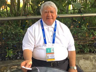Samoa's 74-year-old prime minister Tuilaepa Sailele Malielegaoi qualifies for archery team to compete at Pacific Games
