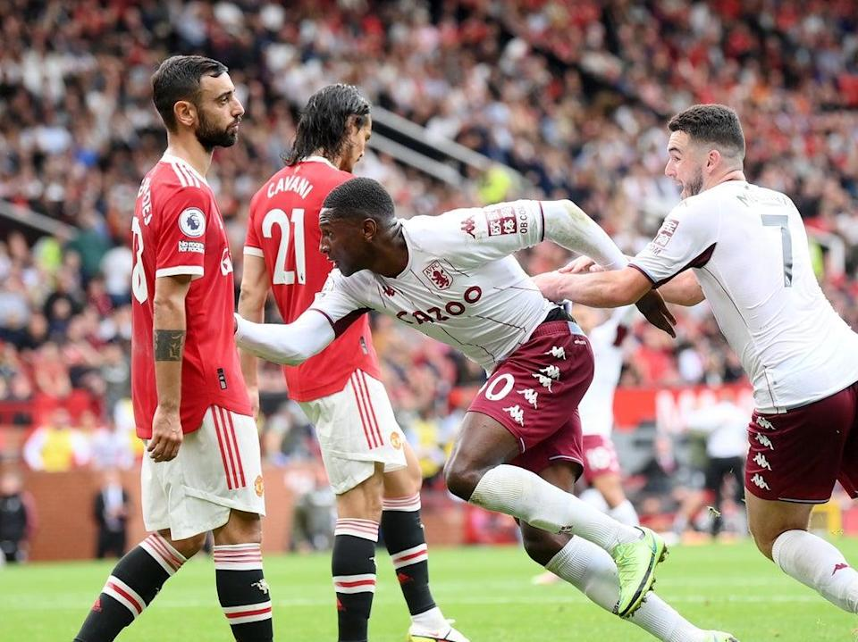 Kortney Hause's 88th-minute header won the game for Aston Villa  (Getty Images)