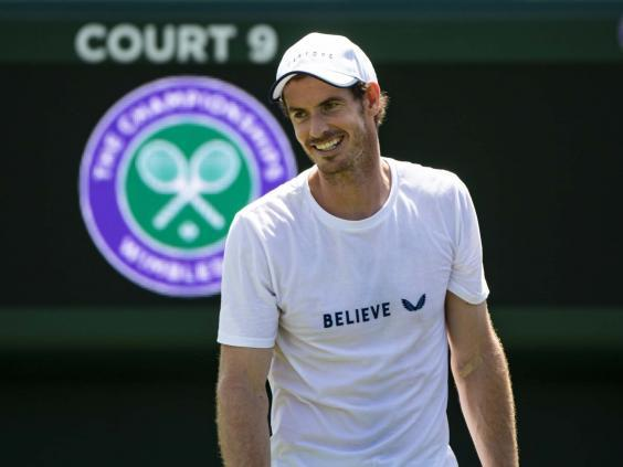 Andy Murray will continue his return to full fitness in the mixed doubles (Getty)