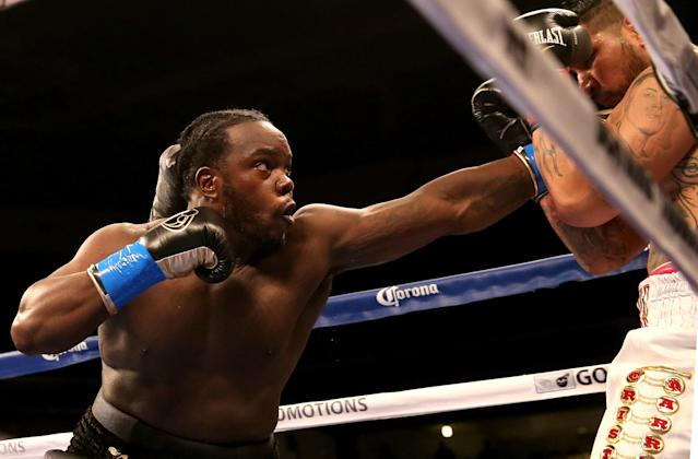 Stiverne will boost his profile with a win Saturday night. (Getty)