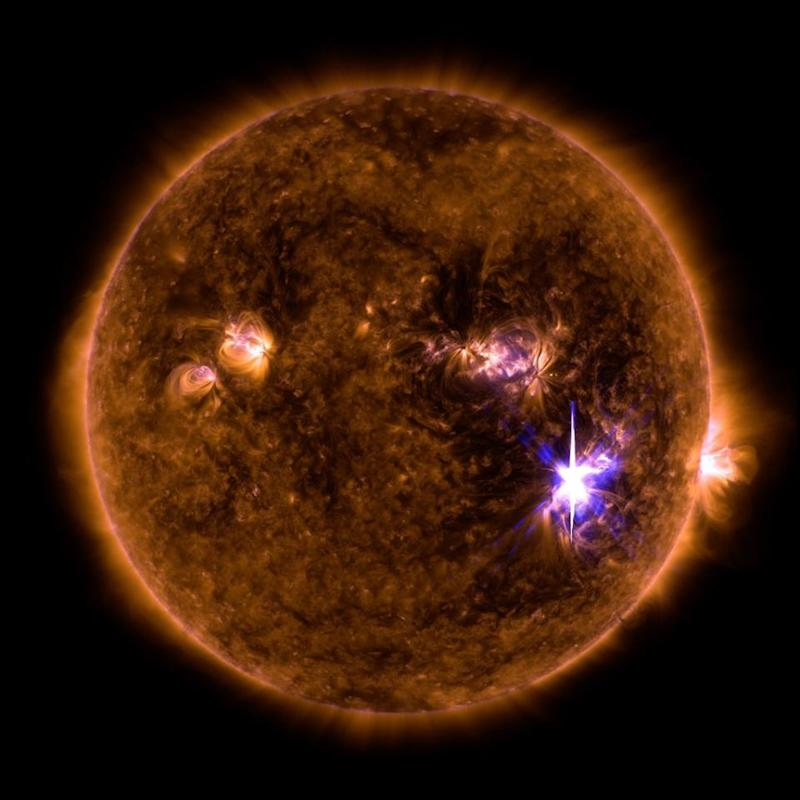 M9 Solar Flare with Strongest Radiation storm since 2005 ...  |2005 Solar Flare
