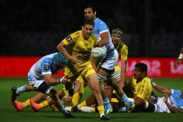 Tawera Kerr-Barlow joined La Rochelle from the Chiefs in 2017