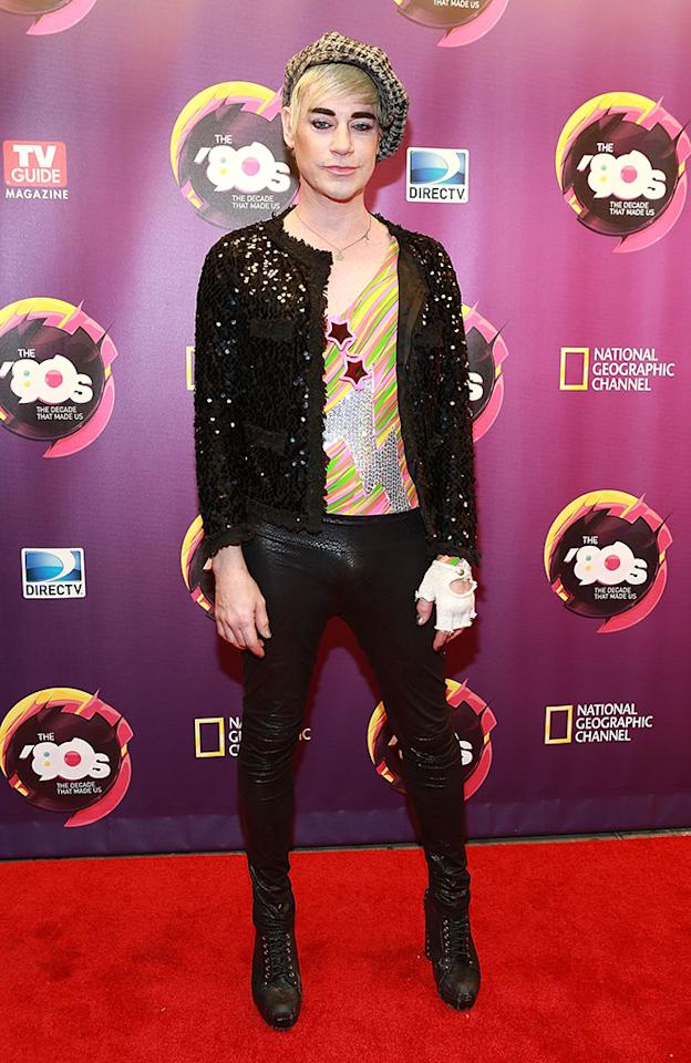 """Richie Rich attends Nat Geo's """"The '80s: The Decade That Made Us"""" New York Premiere at Culture Club on April 9, 2013 in New York City."""