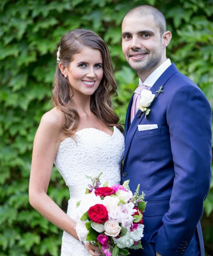 Things have been going well for Erin and Bryce since their wedding day. Photo: Channel 9