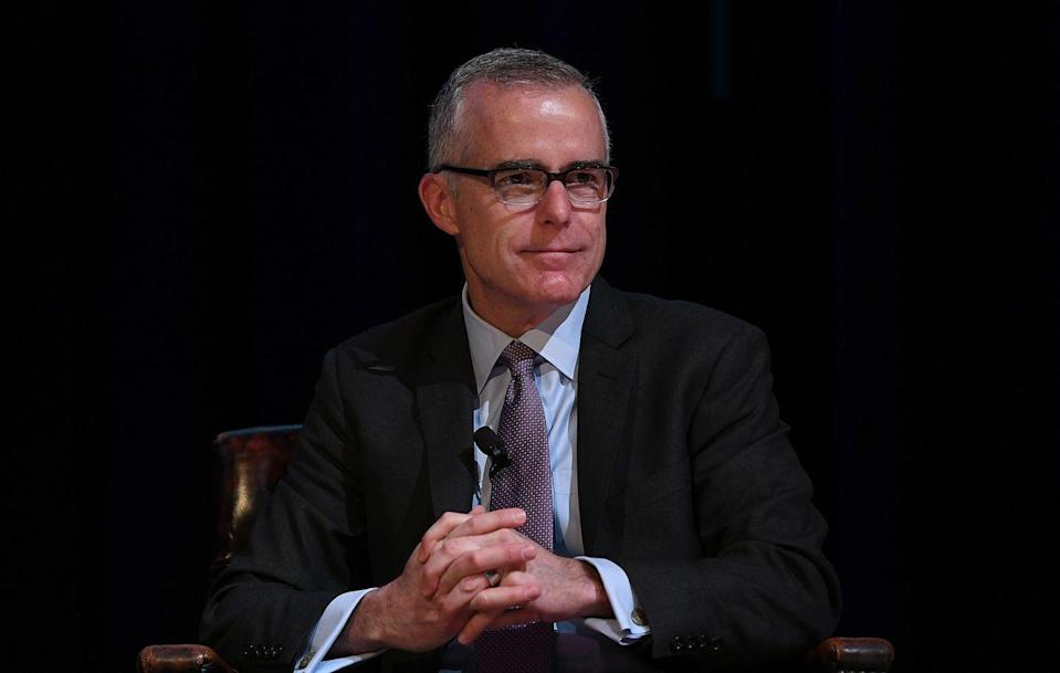 <p>The real Andrew McCabe served briefly as Acting Director of the FBI following James Comey's firing in May 2017. In March 2018, Attorney General Jeff Sessions fired McCabe as well, just 26 hours before he was scheduled to retire. </p>