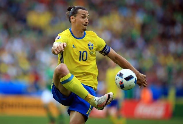 Ibrahimovic has scored 62 goals in 118 appearances for Sweden