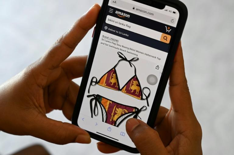 Sri Lanka wants Amazon to take bikinis featuring the country's flag off its site