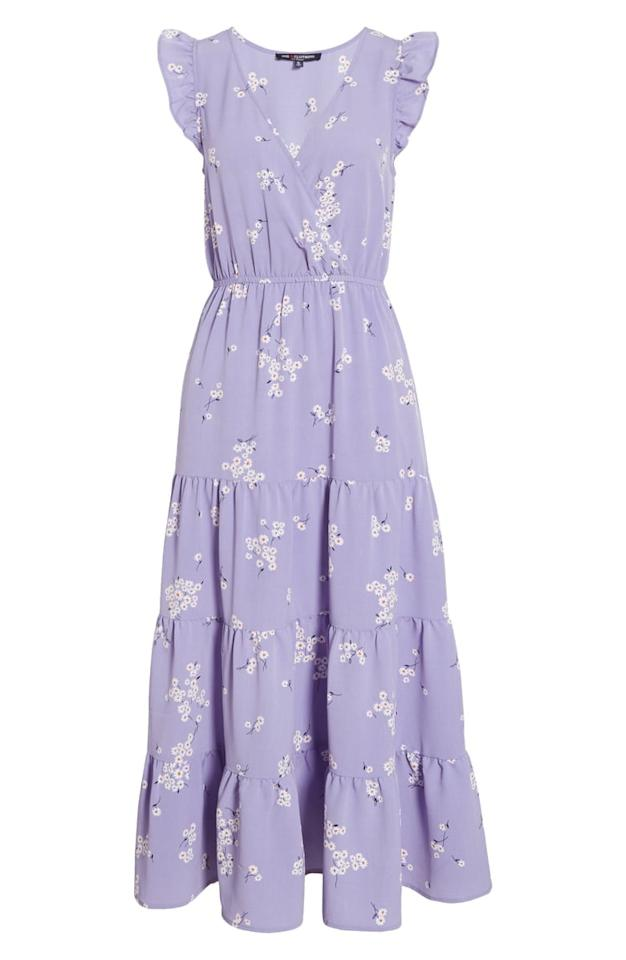 """<p>Wear this <a href=""""https://www.popsugar.com/buy/One-Clothing-Tiered-Maxi-Dress-581608?p_name=One%20Clothing%20Tiered%20Maxi%20Dress&retailer=shop.nordstrom.com&pid=581608&price=55&evar1=fab%3Aus&evar9=37378244&evar98=https%3A%2F%2Fwww.popsugar.com%2Ffashion%2Fphoto-gallery%2F37378244%2Fimage%2F47546308%2FOne-Clothing-Tiered-Maxi-Dress&list1=shopping%2Cdresses%2Cmaxi%20dresses%2Csummer%20fashion%2Cfashion%20shopping&prop13=api&pdata=1"""" rel=""""nofollow"""" data-shoppable-link=""""1"""" target=""""_blank"""" class=""""ga-track"""" data-ga-category=""""Related"""" data-ga-label=""""https://shop.nordstrom.com/s/one-clothing-tiered-maxi-dress/5554120?origin=category-personalizedsort&amp;breadcrumb=Home%2FWomen%2FClothing%2FDresses&amp;color=lavender%2F%20ivory"""" data-ga-action=""""In-Line Links"""">One Clothing Tiered Maxi Dress</a> ($55) with espadrilles.</p>"""