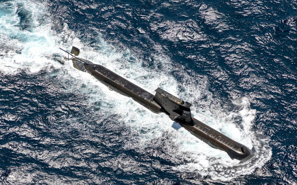 Australia's Collins Class submarines are to be replaced with a nuclear submarine fleet - POIS Yuri Ramsey/Australian Defence Force via Getty Images