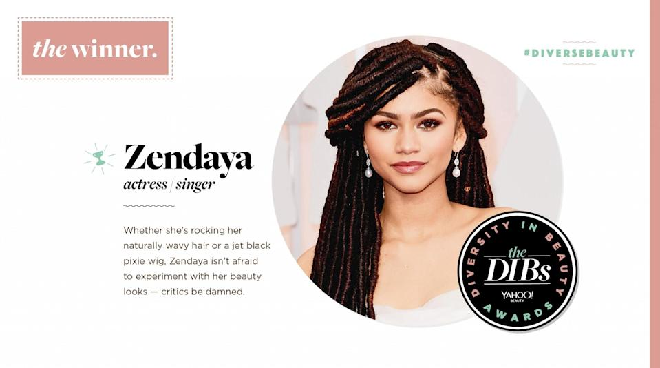 <p>Whether she's rocking her naturally wavy hair or a jet black pixie wig, Zendaya isn't afraid to experiment with her beauty looks — critics be damned. </p>