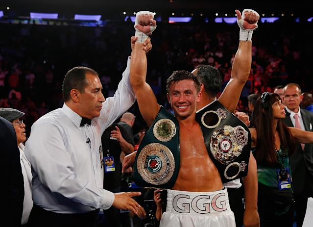 Incredible punching power keeps Gennady Golovkin a headline attraction