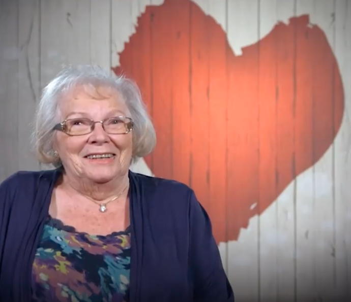 He met 79-year-old Ruth on the show. Photo: Channel 4