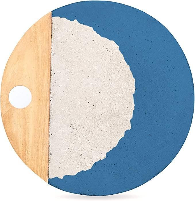 <p>This pretty <span>Studio Badge Afriyie Concrete Serving Platter</span> ($90) reminds me of the ocean.</p>