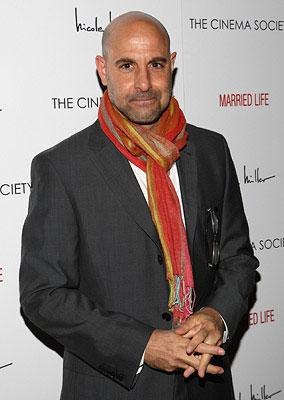 """Premiere: <a href=""""/movie/contributor/1800018595"""">Stanley Tucci</a> at the New York City screening of Sony Pictures Classics' <a href=""""/movie/1809733425/info"""">Married Life</a> - 03/05/2008<br>Photo: <a href=""""http://www.wireimage.com/"""">Jason Kempin, WireImage.com</a>"""