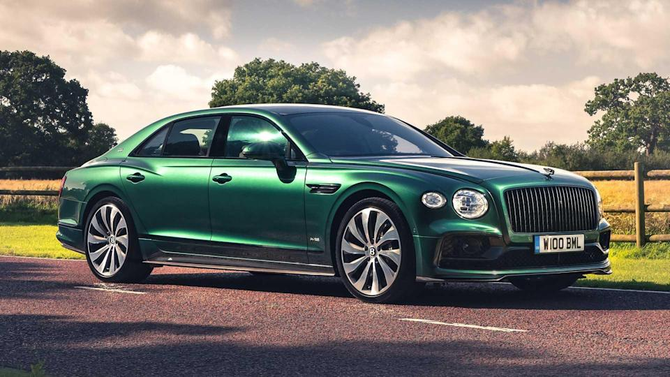 Bentley Flying Spur Gets Sporty With New Styling Specification