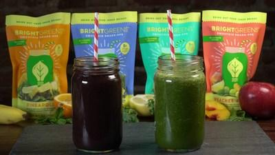 Bright Greens offers four blends of frozen