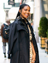 Gabrielle Union's braid game is envious. The gold string and curled ends take this look to the next level.