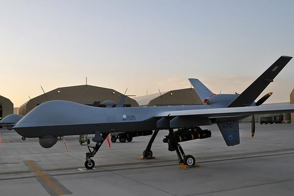 UK's Royal Air Force Sends New Spy Drones to Afghanistan