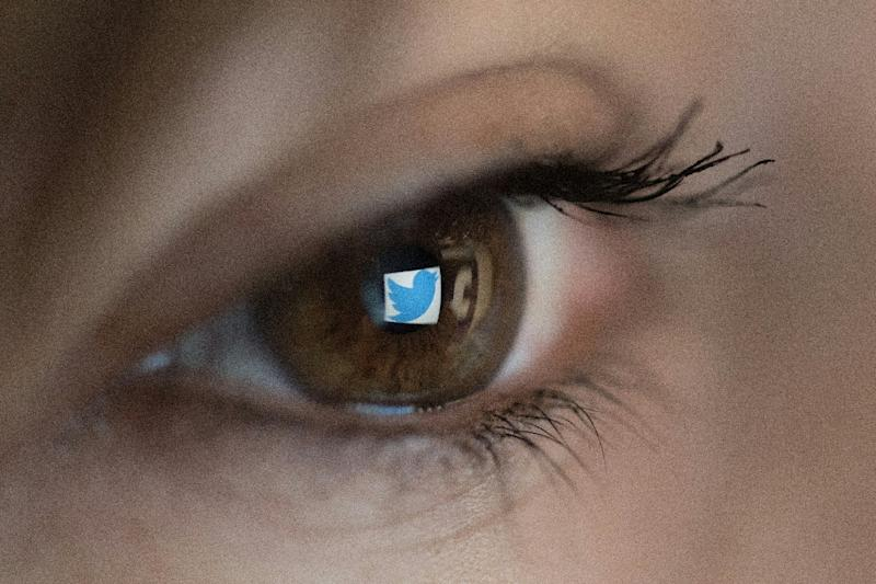 """Twitter has ramped up efforts to remove abusive content and """"hate speech"""" under pressure from governments around the world (AFP Photo/Christophe SIMON)"""