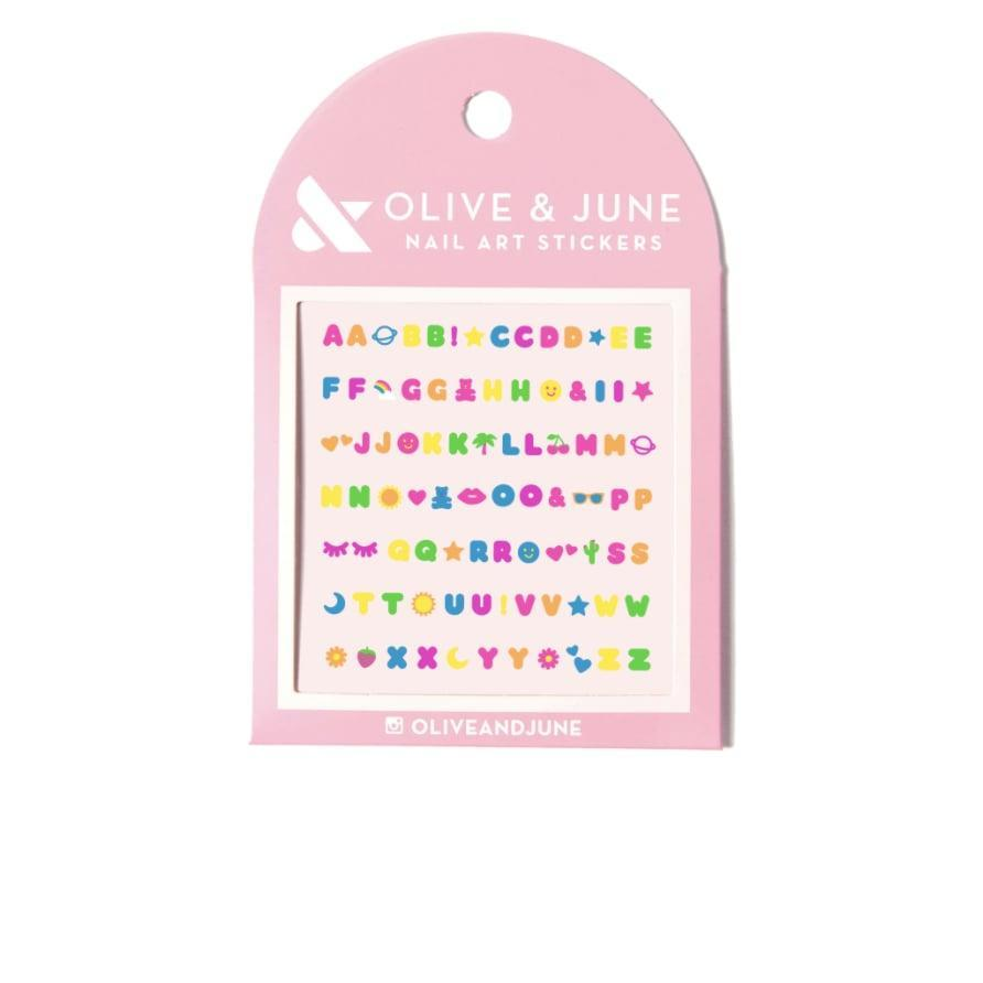 <p>Personalize your manicure with these adorable <span>Alphabet Nail Art Stickers</span> ($8). From using cute summer motifs to expressing yourself with your nails, this sticker kit will help you make a statement.</p>