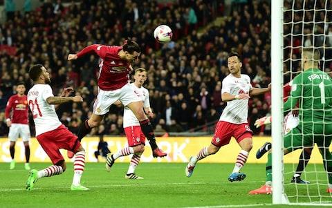 """Premier League betting: offers and suggested bets  3:37PM 35 mins The pace, power and directness of Lukaku + the verve and angles ofMkhitaryan's runs are making United a scrary proposition on the break. They look proper menacing. 3:35PM Time on ball (15 - 30 min) Possession: Southampton vs Man Utd 3:34PM 32 mins Lemina and Mkhitaryan shoulder to shoulder in the Saints box. Cleared, no foul. 3:32PM 30 mins Nathan Redmond, still searching for his first goal of the season, has hit the target. Attempt Saved: Southampton 0 - 1 Man Utd (Nathan Redmond, 28 min) 3:28PM Dong song sing song ding dong Man United fans singing THE Lukaku song followed by a chorus of: """"We're Man United, we'll sing what we want.""""— John Cross (@johncrossmirror) September 23, 2017 3:27PM 25 mins Saints try to hit back Attempt Saved: Southampton 0 - 1 Man Utd (Mario Lemina, 23 min) 3:26PM 24 mins Southampton had been doing pretty well. What have they got? 3:25PM Lukaku: what a signing He's scored in every match he's played this season bar one for club and country. 3:20PM GOAL! Manchester United and it's Lukaku Romelu Lukaku scores for Man Utd to make it 0-1! Ashley Young gets to the byline and crosses. The big Belgian meets it with a bullet header. Excellent reaction save from Fraser F. But it rebounds straight to Lukaku, who smashes home from six yards. Southampton 0 - 1 Man Utd (Romelu Lukaku, 20 min) 3:19PM 18 mins Mourinho looks sullen and, well, bored on the touchline, slumped in a big chair. 3:18PM 17 mins Lukaku putting himself about, frees Mkhi, but Saints are alive to the danger. 3:18PM 15 mins Shane Long isolated up top, putting in a solid shift, but Saints need to get runners up around him. 15: #SaintsFC's @LeminaM_13 shows clever footwork on the right, but his cross is too deep and evades everyone in the box. (0-0) pic.twitter.com/cRP92LWLs2— Southampton FC (@SouthamptonFC) September 23, 2017 3:15PM Time on ball (0 - 15 min) Possession: Southampton vs Man Utd 3:14PM 11 mins Fellaini and H"""