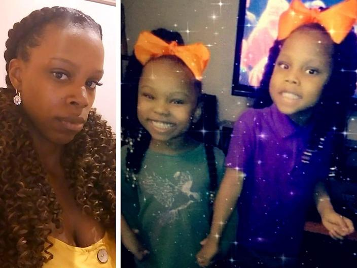 Zaniya R. Ivery, 5, and Camaria Banks, 4, were found dead Sunday along with their mother, Amarah Banks.