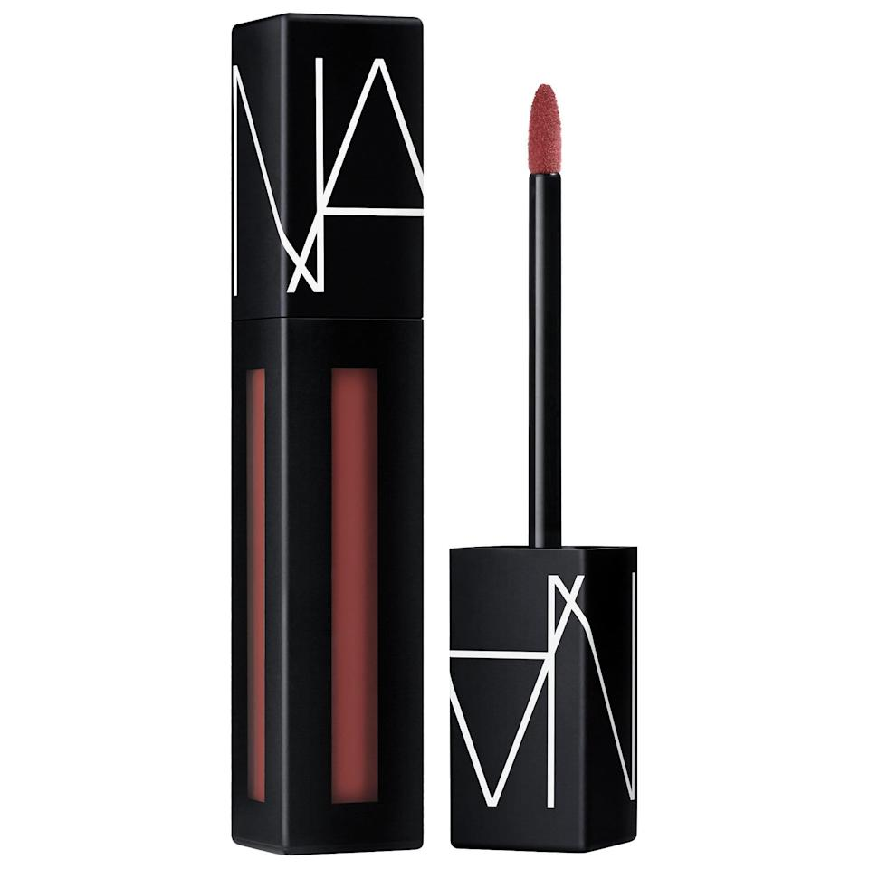 """<p>You'll quickly see why this <span>Nars Powermatte Lip Pigment</span> ($26) has become a favorite among beauty influencers. It's so lightweight, you'll forget you're even wearing it.</p> <p>""""No joke, I tried one of these today at 8 a.m. and it lasted through my breakfast wrap and coffee,"""" a customer wrote. """"THEN it made it through my pasta lunch at work with a little bit of transfer but didn't get all over my face like other liquid lips usually do. Looked good enough, so I didn't even need to touch-up. I finally used makeup remover to take it off at 6 p.m. I will be purchasing many of these. Bravo, Nars!""""</p>"""