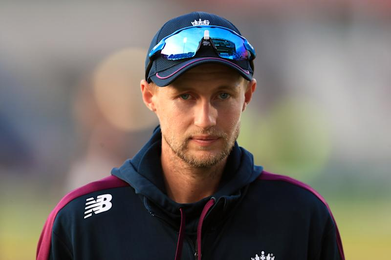 England's Joe Root during day five of the fourth Ashes Test at Emirates Old Trafford, Manchester. (Photo by Mike Egerton/PA Images via Getty Images)