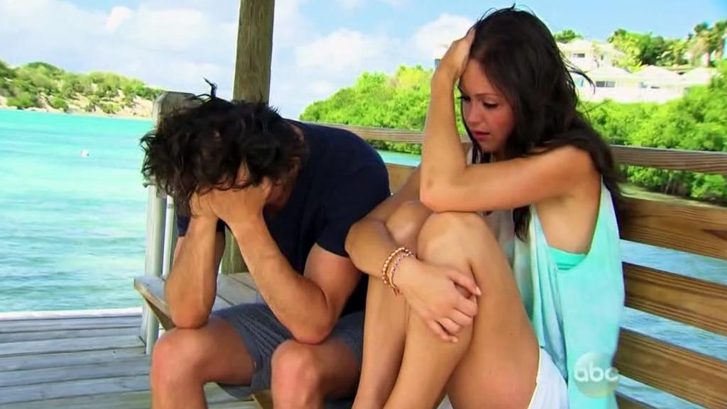 "Brooks and Desiree in ABC's ""The Bachelorette."""