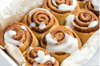 """<p>Whether they're served right when the whole fam wakes up or if they come out right around dessert time, there's a reason Oklahoma cinnamon rolls are so famous.</p><p>Get the <a href=""""https://www.delish.com/cooking/recipe-ideas/a22813921/cinnamon-rolls-recipe/"""" rel=""""nofollow noopener"""" target=""""_blank"""" data-ylk=""""slk:recipe"""" class=""""link rapid-noclick-resp"""">recipe</a>.</p>"""