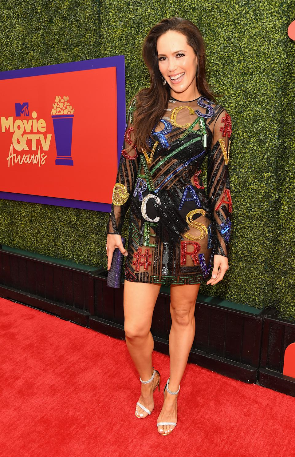 LOS ANGELES, CALIFORNIA - MAY 17: In this image released on May 17, Davina Potratz attends the 2021 MTV Movie & TV Awards: UNSCRIPTED in Los Angeles, California. (Photo by Kevin Mazur/2021 MTV Movie and TV Awards/Getty Images for MTV/ViacomCBS)