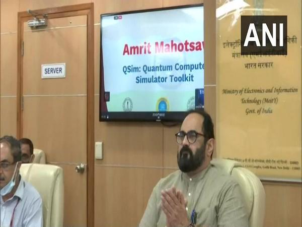 Minister of State for Electronics and Information Technology, Rajeev Chandrasekhar (File Photo)