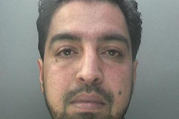Muhammed Irfan threatened the victim's family (Picture: Police)