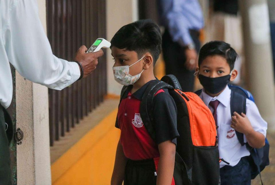 Penang Chief Minister Chow Kon Yeow said the closure of these eight schools were in addition to the 20 schools that were ordered to close yesterday due to Covid-19 cases. — Picture by Farhan Najib