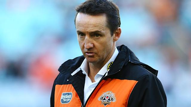 Jason Taylor was sacked as Wests Tigers coach, just three games into the NRL campaign.