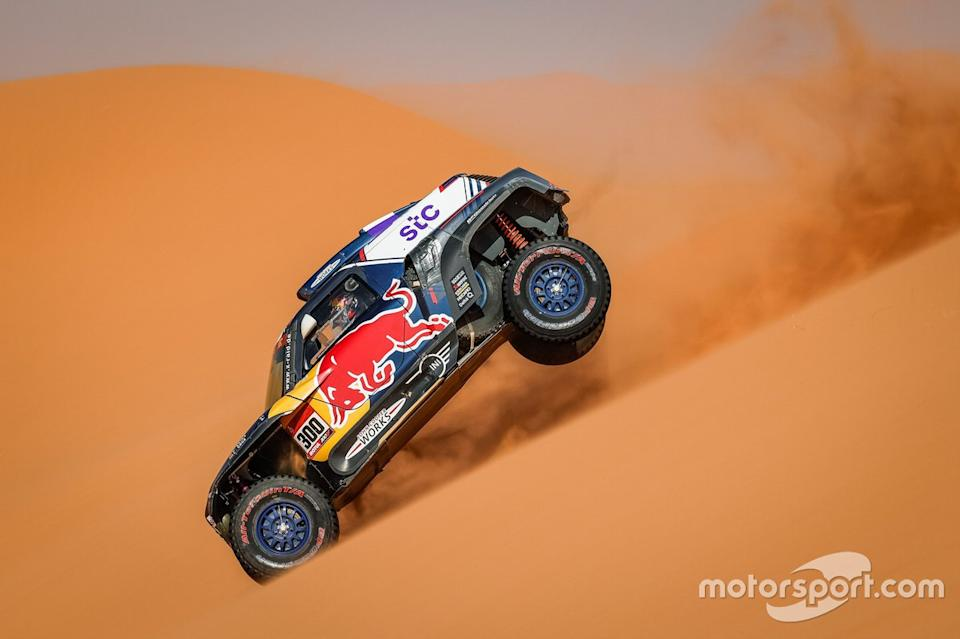 "#300 X-Raid Mini JCW Team: Carlos Sainz, Lucas Cruz<span class=""copyright"">DPPI </span>"