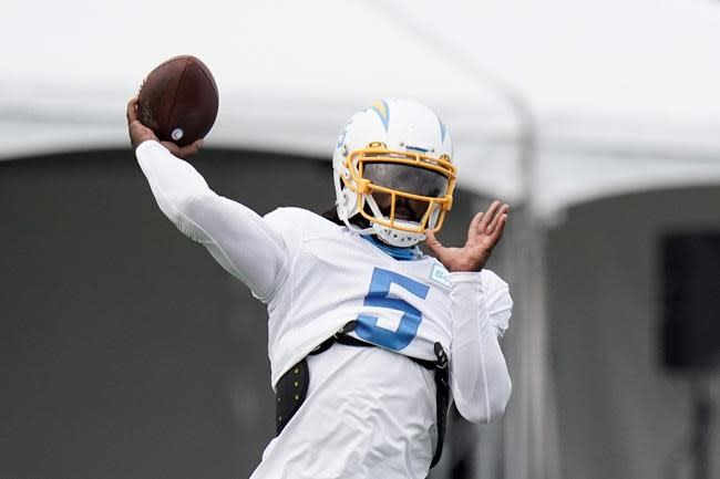 Chargers' Jennings looking to prove he can excel at receiver