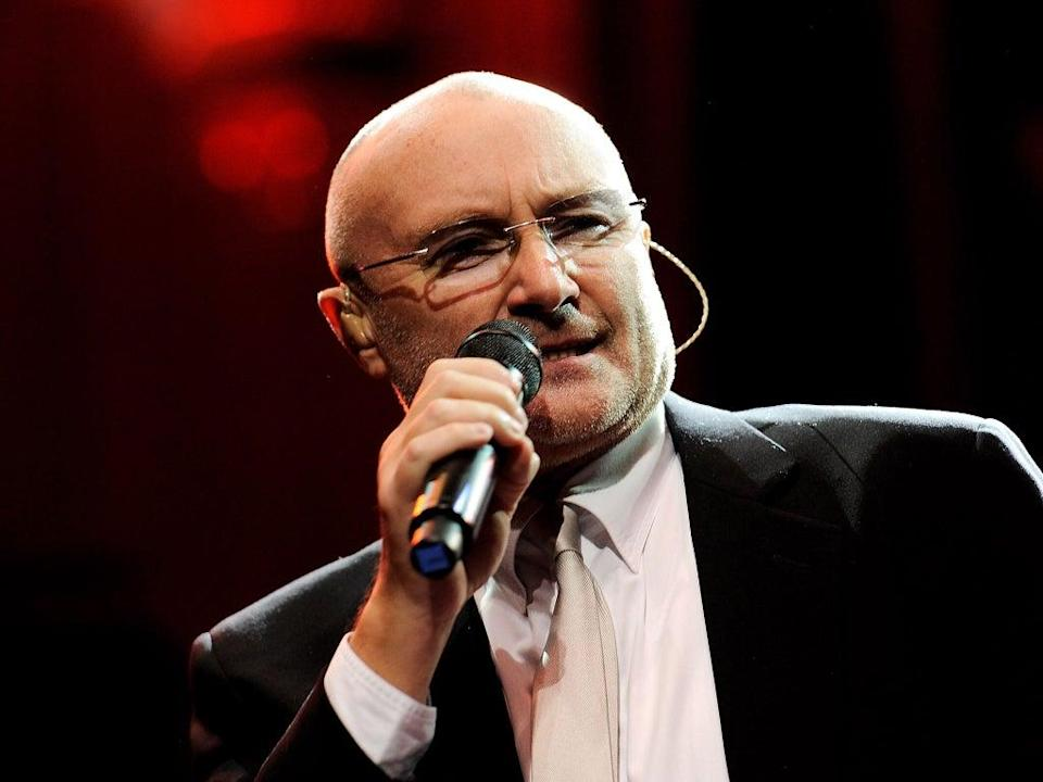 Phil Collins has performed at his sons' school concert for the first time since retiring in 2011 (Getty Images)