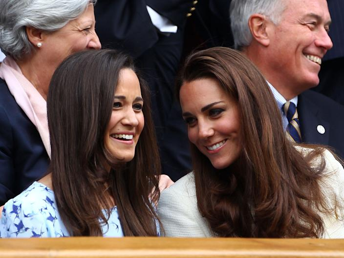 The Middleton sisters.
