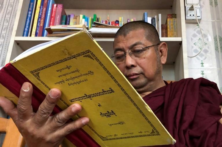 The monk Parmaukkha blames the growing death toll on the media for inciting opposition to military rule